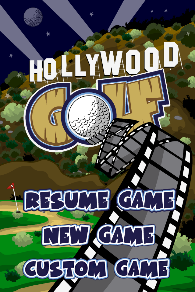 Screenshot Hollywood Golf